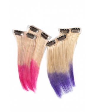 Designer Two Tone Addons hair extensions